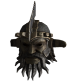 Marked beast tribal helmet