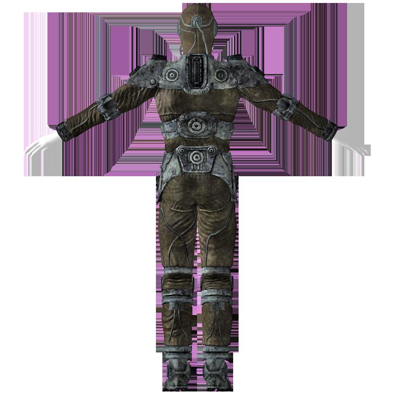 Recon armor back