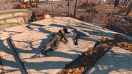FO4 Sniper Rifle at South Boston Military Checkpoint