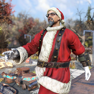 FO76 Atomic Shop outfit mrclaus c1