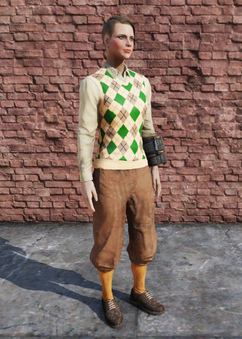 FO76 Golf Outfit Female