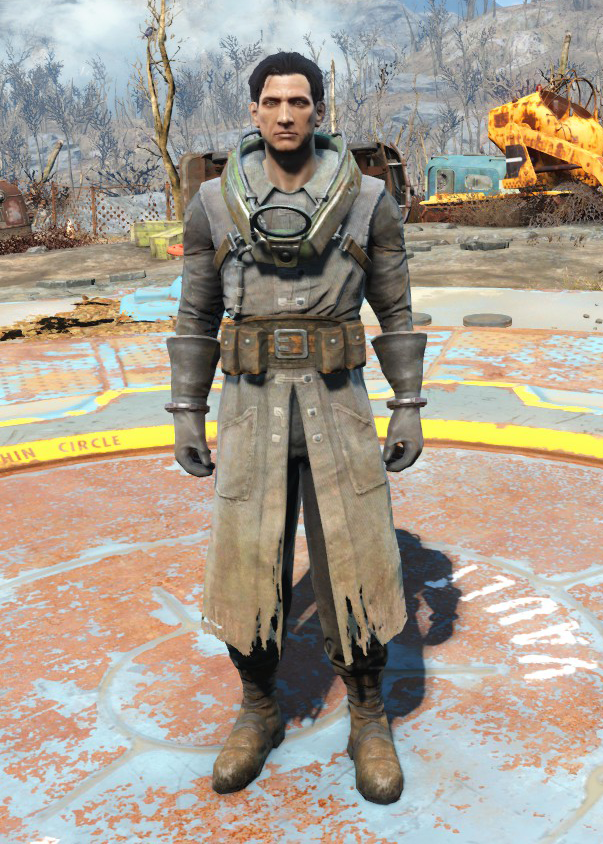 Fo4Science Scribe's Armor male