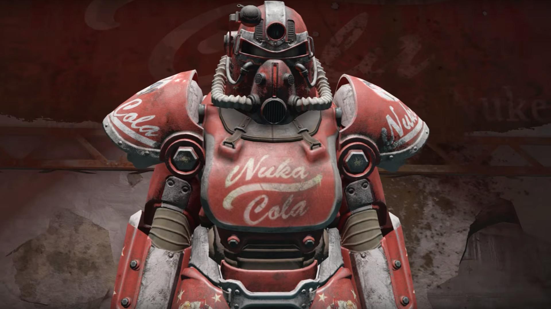 NukaWorld Nuka-Cola power armor