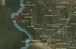 Overseer's Camp map