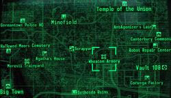 Wheaton Armory loc