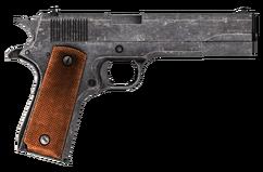 .45 Auto pistol