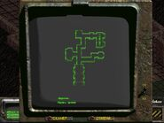 FO2 PipBoy — Local map