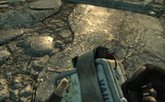 FO3 Bottlecap mine in hand