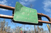 FO4 Fiddlers Green sign
