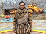 Hunter's pelt outfit