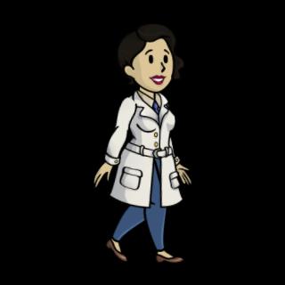 Доктор Ли у халаті
