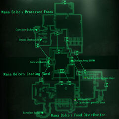 Mama Dolces map
