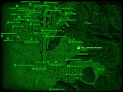 FO4 Завод «Дженерал Атомикс» (карта мира)