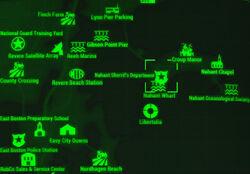 FO4 map Nahant Sheriff