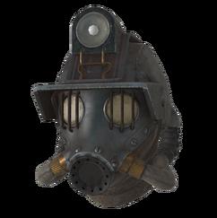 FO76LR Reclaimed deep mining gas mask