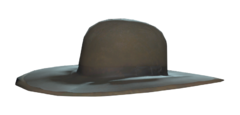 FO76 Black prospector's hat