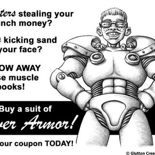 T-51b power armor advertising