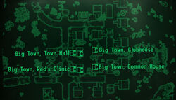 Big Town loc map
