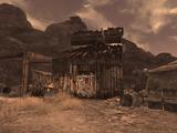 Camp Forlorn Hope jail