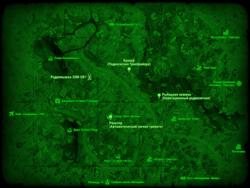 FO4 Радиовышка 3SM-U81 (карта мира)