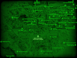 FO4 Центр снабжения бостонской полиции (карта мира)