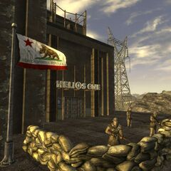 NCR troops guarding the main entrance to HELIOS One