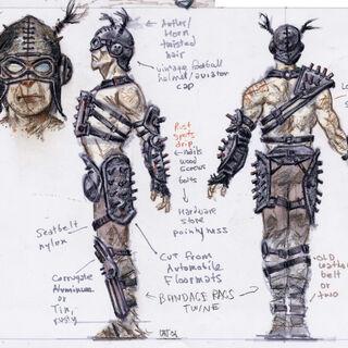 Шпичаста броня рейдерів — концепт