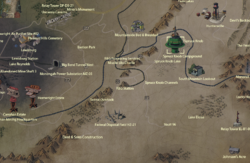 Spruce Knob map
