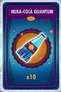 10 Nuka-Cola Quantum card