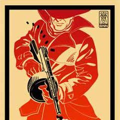 <i>Рекламний плакат Радіо Срібного Плаща</i>