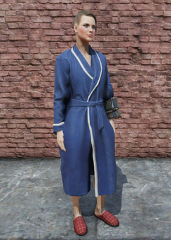 FO76 Bathrobe Female