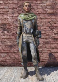 FO76 Leather Coat
