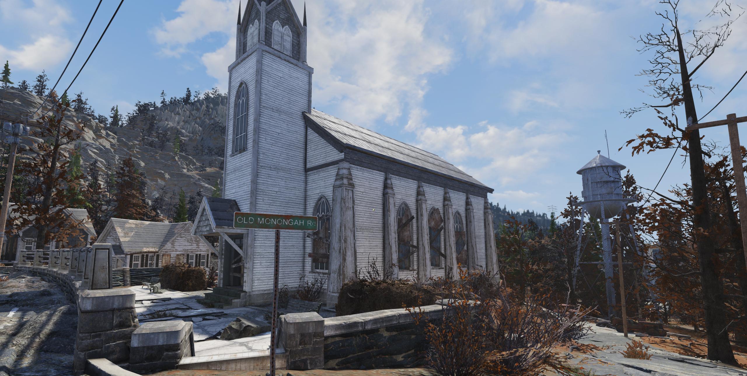 FO76 Monongah (Church)
