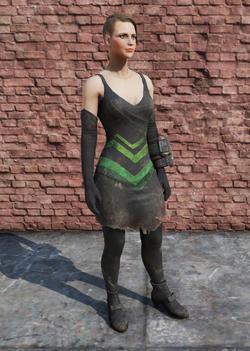 FO76 Tattered Dress Female