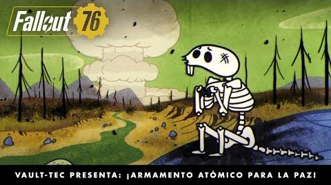 Fallout 76 – Vault-Tec presenta ¡Armamento atómico para la paz! (vídeo sobre las bombas nucleares)