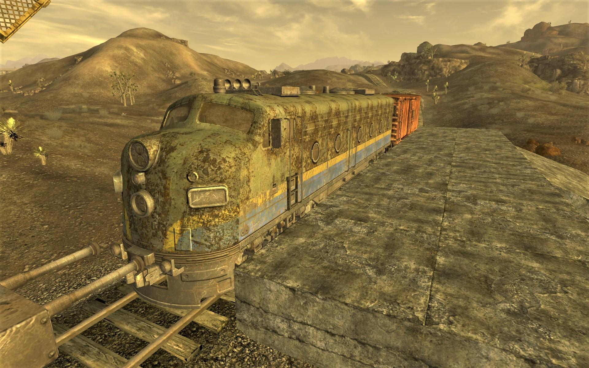 FNV Callville train