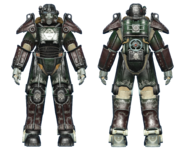 FO4CC T-45 power armor gunner sergeant