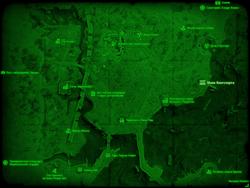 FO4 Маяк Кингспорта (карта мира)