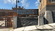 FO4 Cambridge Police station exterior 1