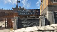 FO4 Cambridge Police station exterior 1