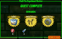 FoS Vault-Tec Experiment Review E rewards