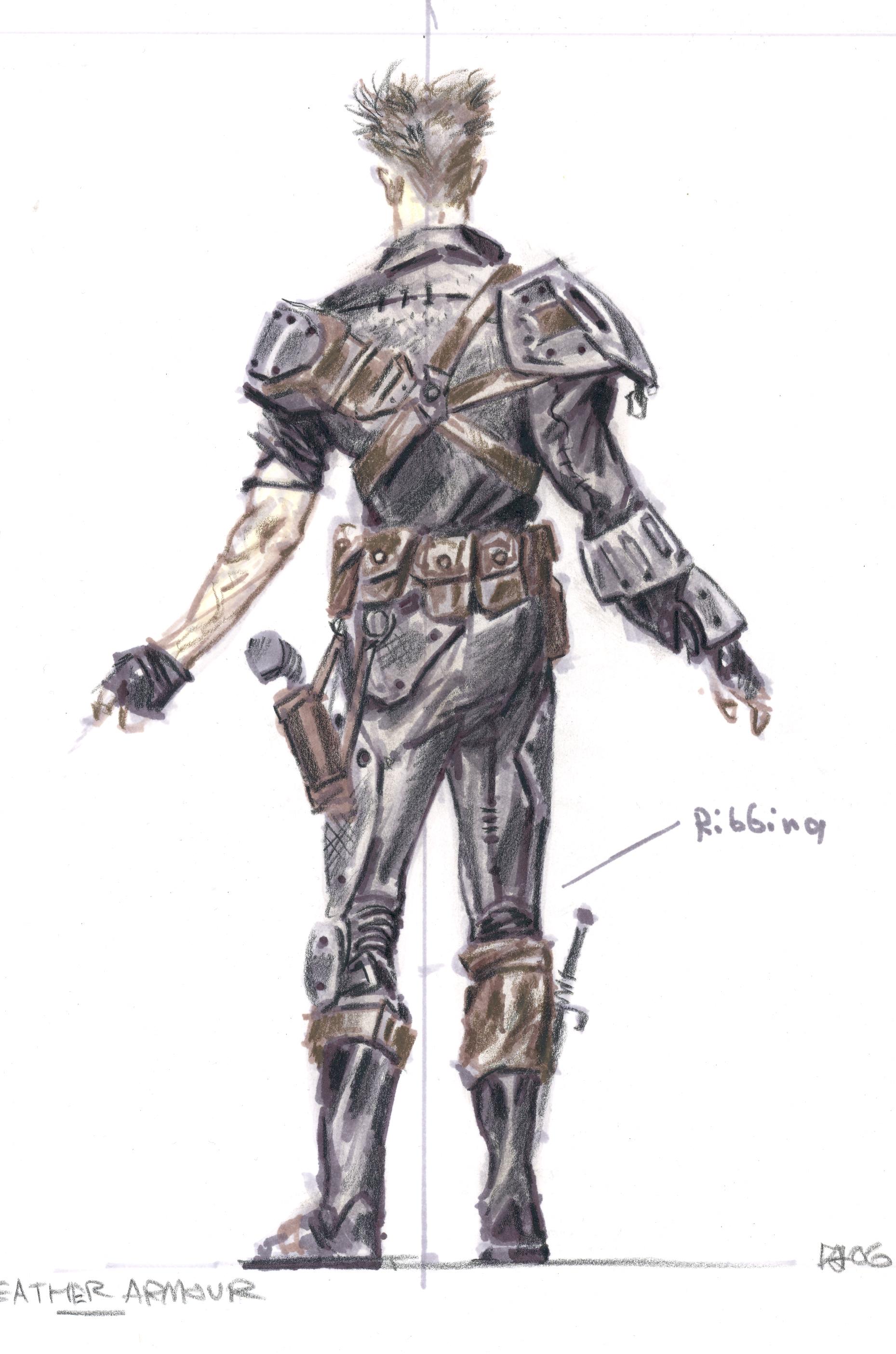 Leather armor CA5