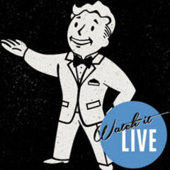 Vault Boy, in a business suit, for <i>Fallout 4</i>