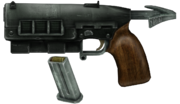 127mm pistol blown up