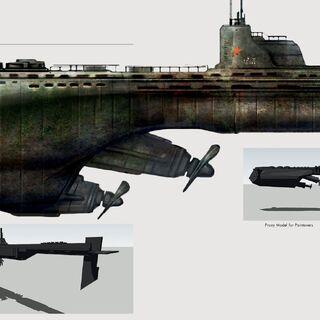 Концепт-арт судна