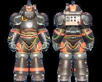 CC-00 power armor BOS paint