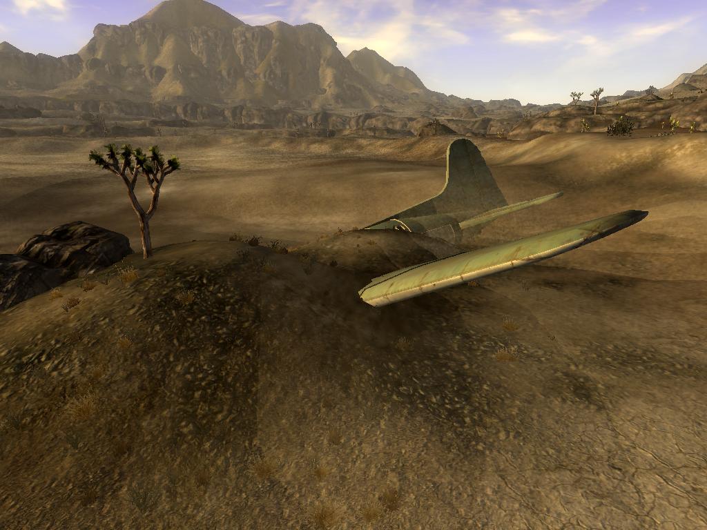 Crashed Transport Plane Fallout Wiki Fandom Powered By Wikia