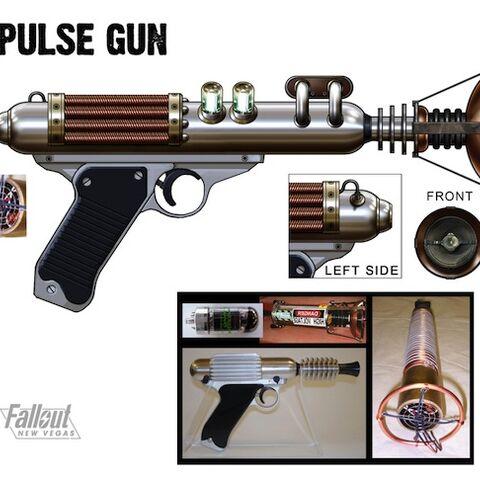 Pulse gun concept art by <a href=