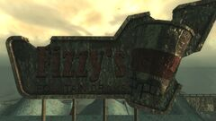FO3PL Fizzy's Fountain Drinks sign