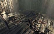 FO3 Skeletons in the destroyed village